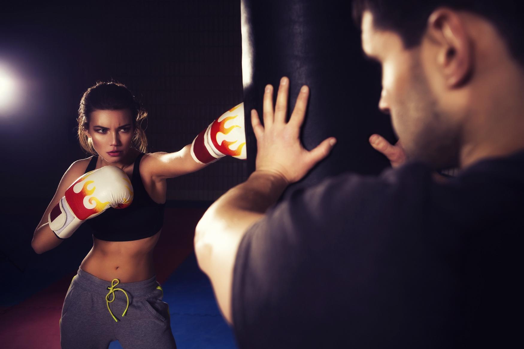 фотогалерея женского бокса